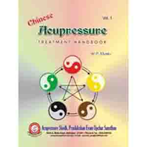 Chinese Acupressure Treatment Hand - Eng.Book