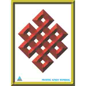 Feng Shui Poster - Mystic Knot