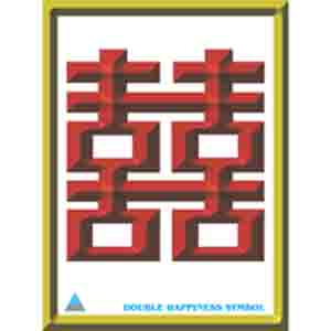 Feng Shui Poster - Double Happiness