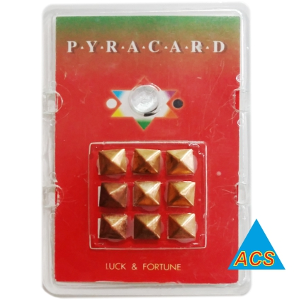 ACS Pyramid Card - Luck & Fortune