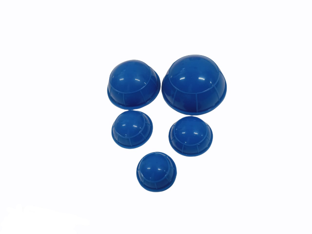 Vacuum Half Ball Silicion - Set of 5