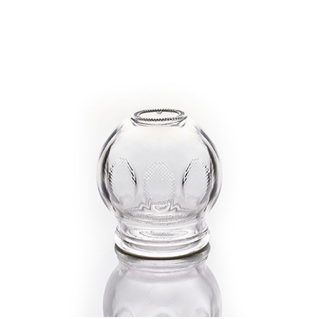 Vacuum Cupping Glass-Single/ Fire Cup 2 No.