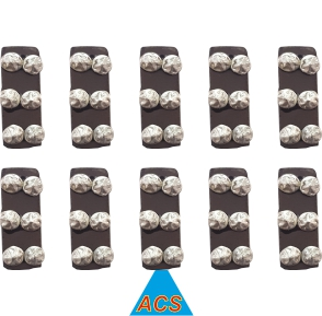 Bar Magnet - 6 Star Set of 10