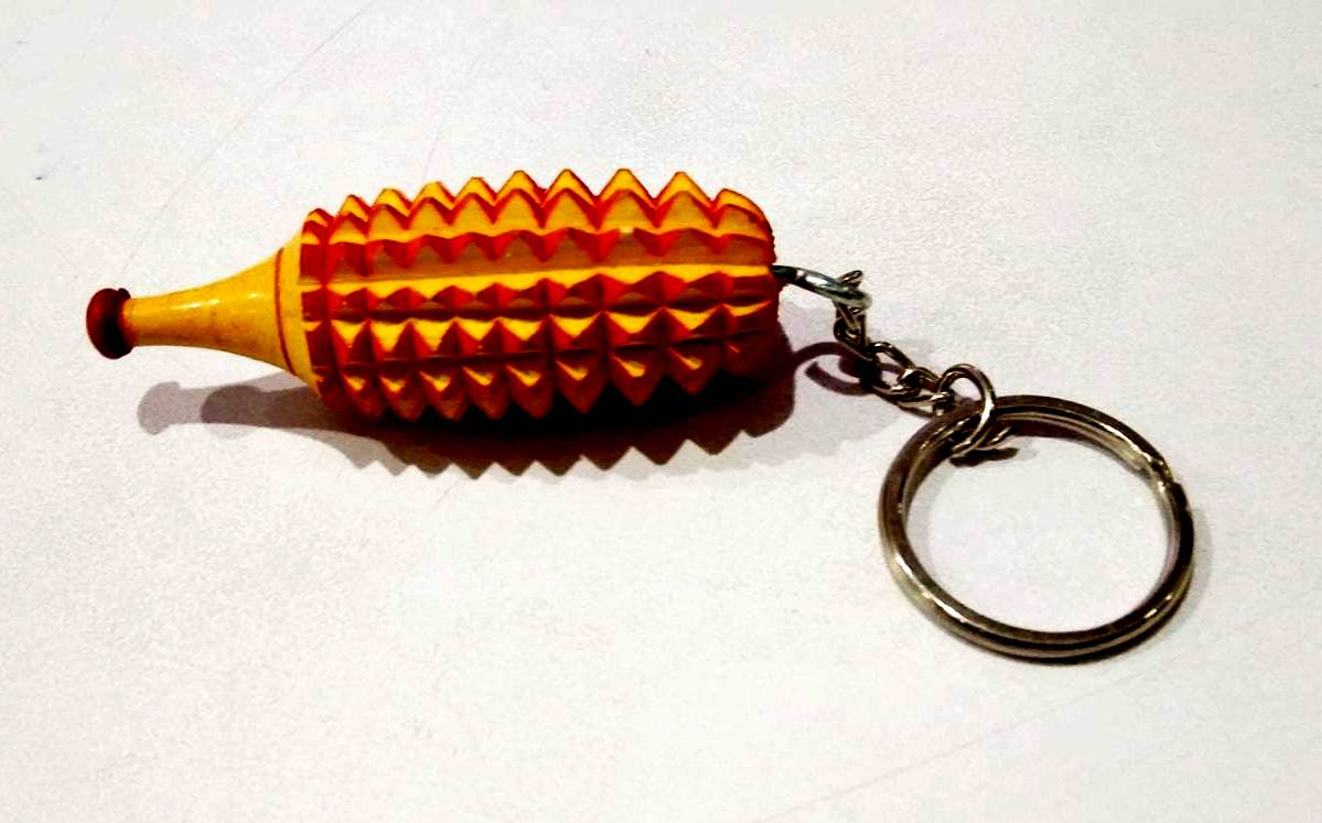 ACS Karela Key Chain - Wooden