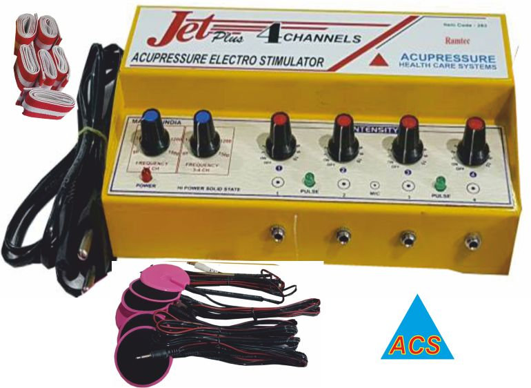 ACS Acupressure Stimulator - TENS 4Ch. Jet Plus  - 474