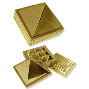 Pyramid Brass Set 5cm  - WCB