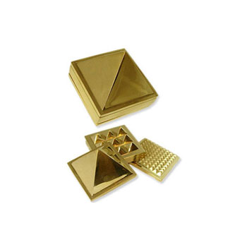 Pyramid Brass Set 3cm  - WCB