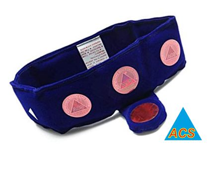 ACS Magnetic Cervical / Neck Belt - Velvet  - 484