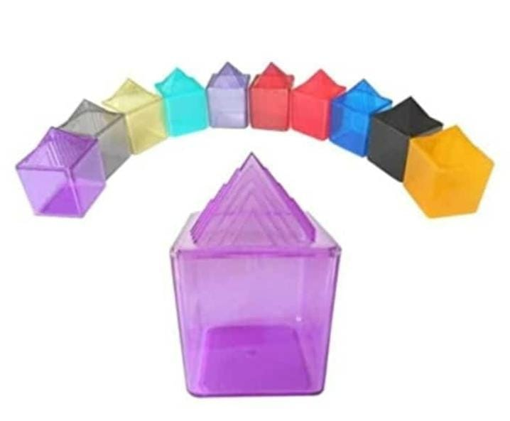 ACS Colour Water Pyramid Set of 10  - 720
