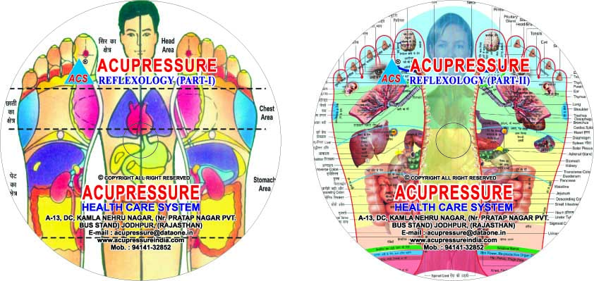Acupressure - Reflexology - set of 2 DVD