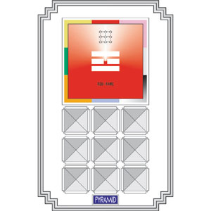 ACS Pyramid Feng Shui - Red-Fame  - 720