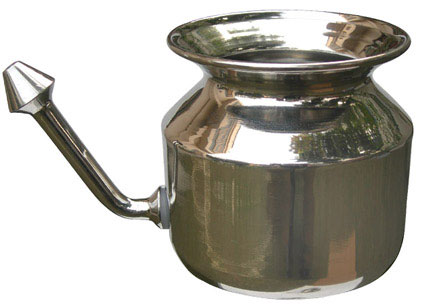 Jal Neti Pot Steel Lota - Classical  - NC