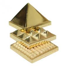Pyramid Brass Set 9cm  - WCB