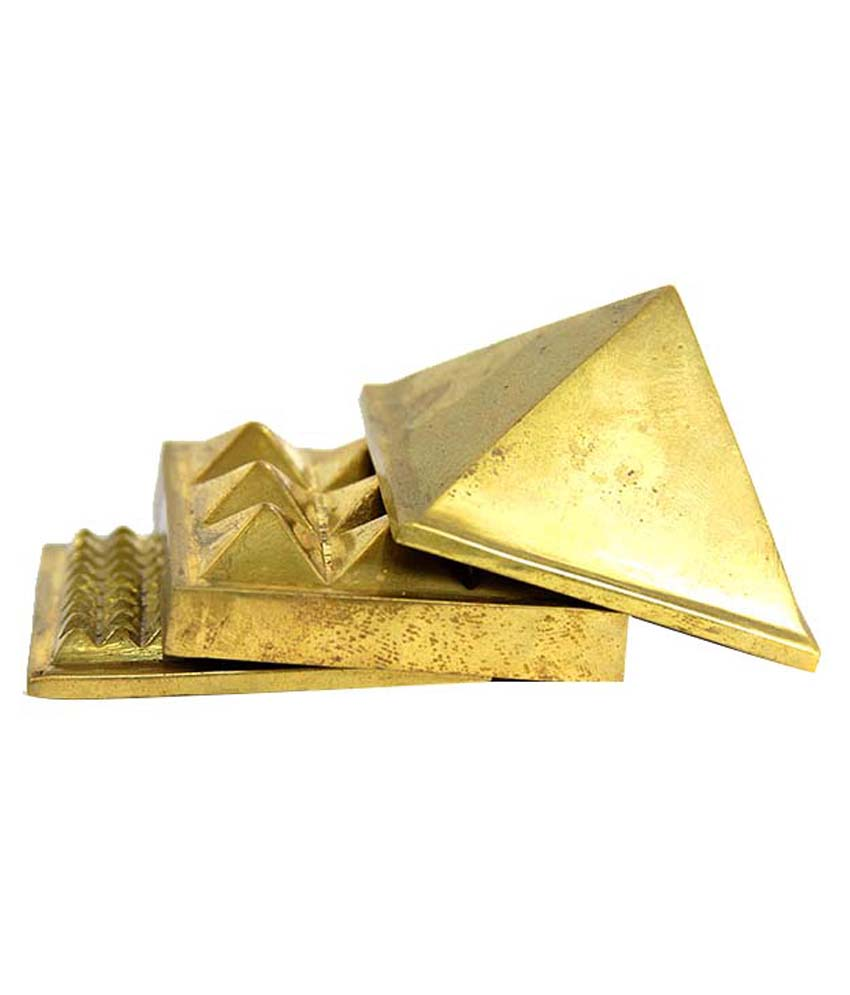 Pyramid Brass Set 4cm  - WCB