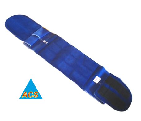 ACS Back & Belly Belt - 9 Magnet Velvet  - 484