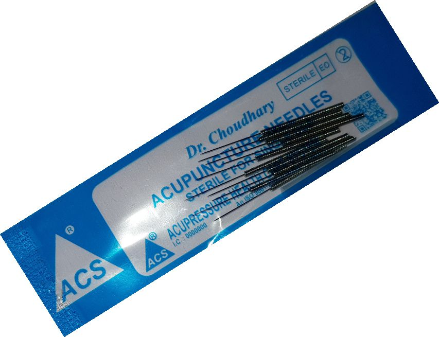 ACS Acupuncture Needles Economy 100-2.5''/.25x60mm - N13