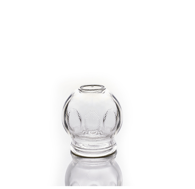 Cupping Glass Size 1 - Single Cup  - CL1