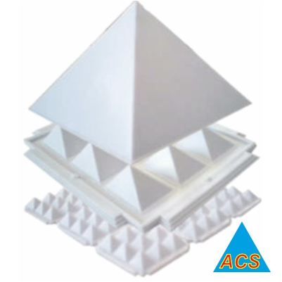 ACS Pyramid Set White - Best 4.5
