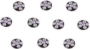 Six Star Magnet - (Set of 10) Round  - 535