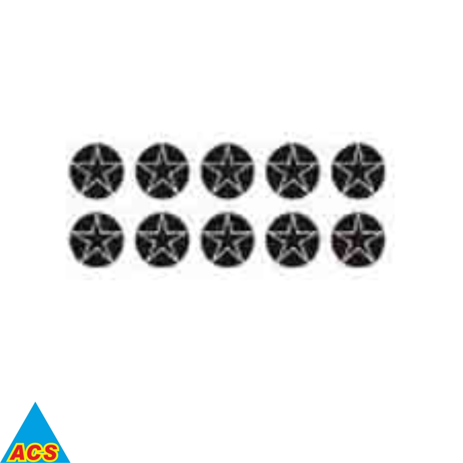 Star Magnet -  Small Ayurvedic (Set of 10)  - 535