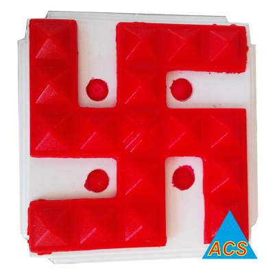 ACS Pyramid Swastik - Small  - Squarer  - 720