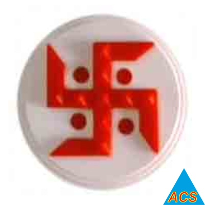 ACS Pyramid Swastik - Small - Round  - 720