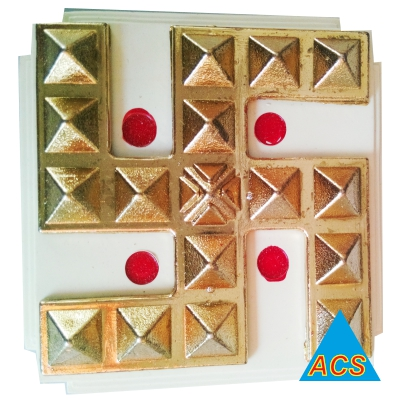 ACS Pyramid Swastik - Golden  - 720