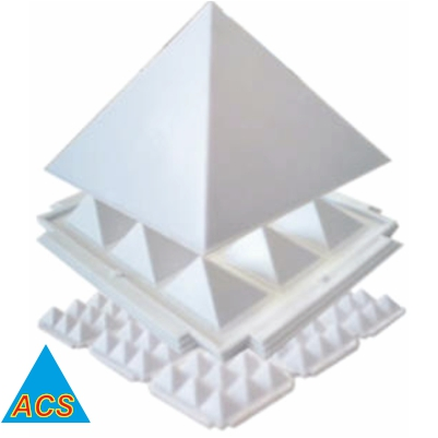 ACS Pyramid Set - White Economy 4.5