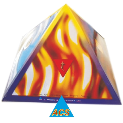 ACS Pyramid Cap - Hard Paper 9