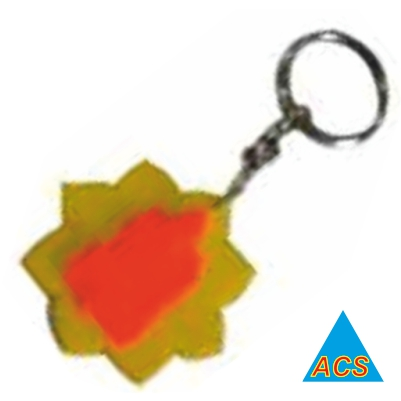 ACS Pyramid Key - Chain Ganpati  - 720