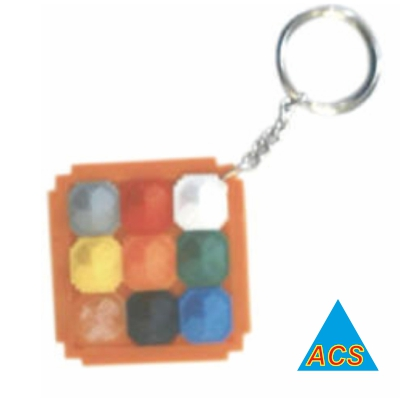 ACS Pyramid Key - Chain (Navgrah)  - 720