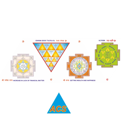 ACS Pyramid Stickers  - 720