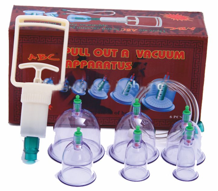 Vacuum Cupping Set of 6 - Economy  - CL1
