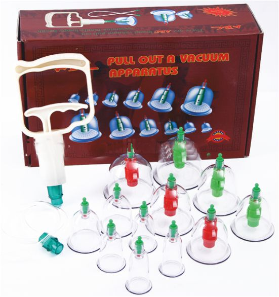 Vacuum Cupping Set of 12 - Economy  - CL1
