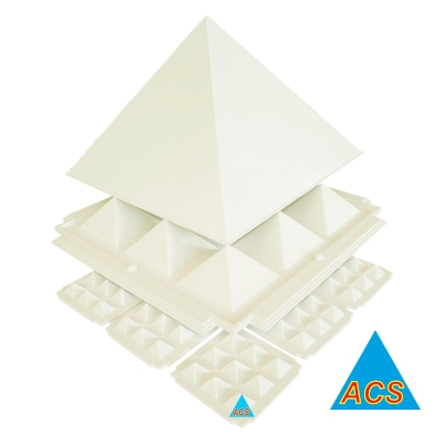 ACS Pyramid Set White - Economy - 6