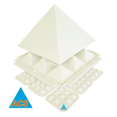 ACS Pyramid Set White Best - 6