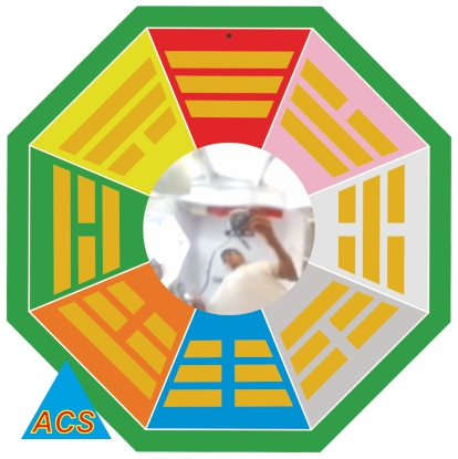 ACS Bagua Mirror - Big 11.5