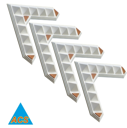 ACS Pyramid Vaastu Angle / Wish Angle - Set of 4  - 720